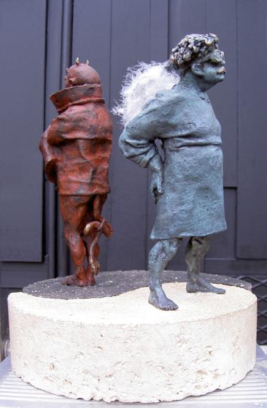 Pues si, pues no.|EsculturadeReula| Compra arte en Flecha.es