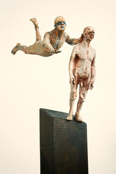 El empuje que me faltaba.|EsculturadeReula| Compra arte en Flecha.es