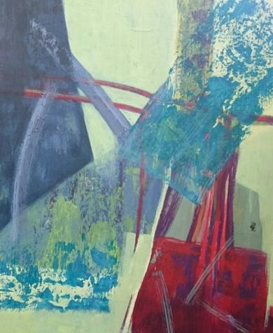 S / T  Serie:  TEXTURAS DE COLOR   Ref.  128|PinturadePatxo  Cruceta| Compra arte en Flecha.es
