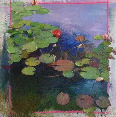 NENÚFARES|PinturadeÁNGELES CERECEDA| Compra arte en Flecha.es