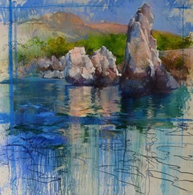 COSTA NORTE|PinturadeÁNGELES CERECEDA| Compra arte en Flecha.es