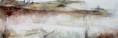 """Paisaje de lluvia""|PinturadeJulia Gallego| Compra arte en Flecha.es"