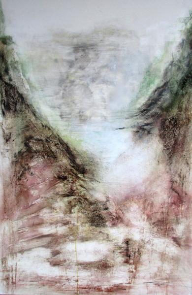 """Atajo""|PinturadeJulia Gallego| Compra arte en Flecha.es"