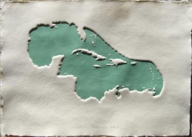 Golfo de México y Mar Caribe VII|Obra gráficadeJaelius Aguirre| Compra arte en Flecha.es