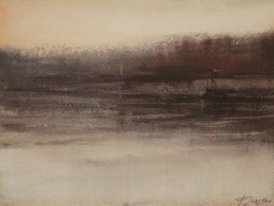 Reflejos I|PinturadeFrancisco Castro| Compra arte en Flecha.es