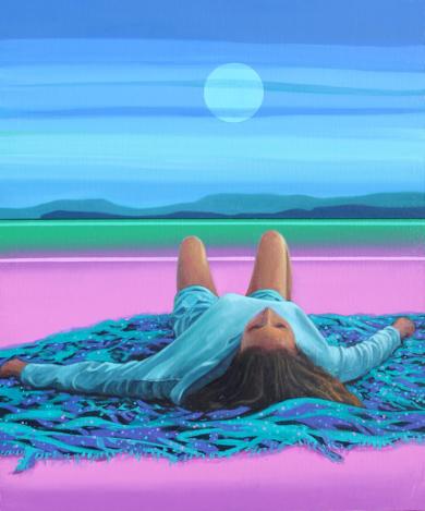 Paraíso 4|PinturadeBenito Salmerón| Compra arte en Flecha.es