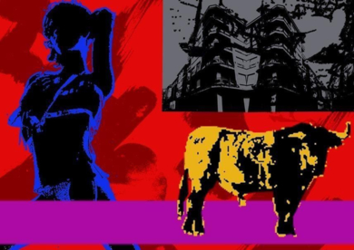 Toro Ligón|Obra gráficadeandrock| Compra arte en Flecha.es