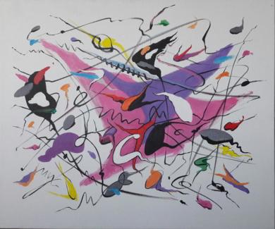 A Thousand Kisses Deep|PinturadeValeriano Cortázar| Compra arte en Flecha.es