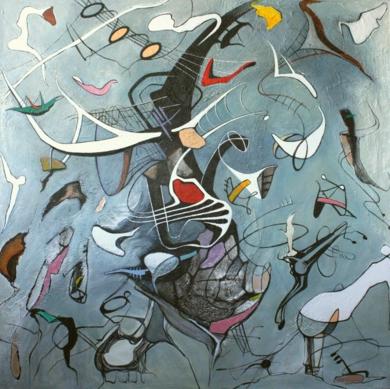 Pathos|PinturadeValeriano Cortázar| Compra arte en Flecha.es
