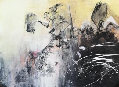 EL GUERRERO Y EL DRAGÓN|PinturadeMimai| Compra arte en Flecha.es