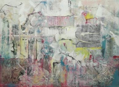 LA TRANQUILIDAD DE LA FLOR|PinturadeMimai| Compra arte en Flecha.es