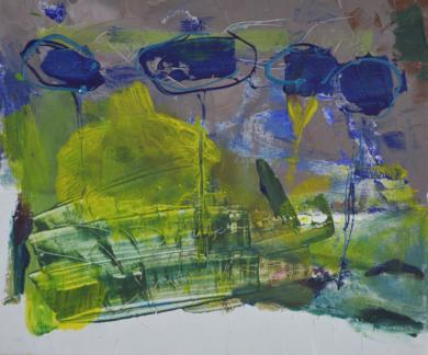 TIERRA 1|PinturadeJCuenca| Compra arte en Flecha.es
