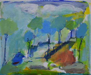 TIERRA 6|PinturadeJCuenca| Compra arte en Flecha.es