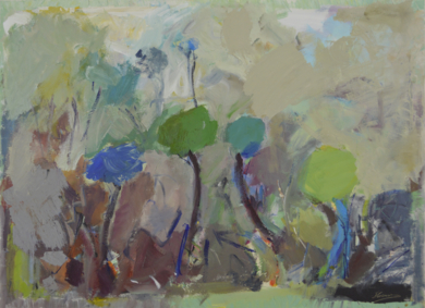 EL BOSQUE DE COLORES 1|PinturadeJCuenca| Compra arte en Flecha.es
