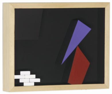 Móvil interactivo 0186 posición A|Escultura de pareddeManuel Izquierdo| Compra arte en Flecha.es