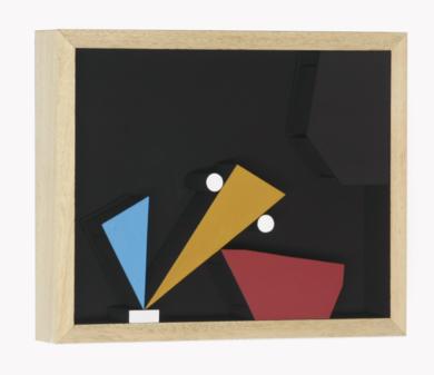 Móvil interactivo 0190 posición A|Escultura de pareddeManuel Izquierdo| Compra arte en Flecha.es
