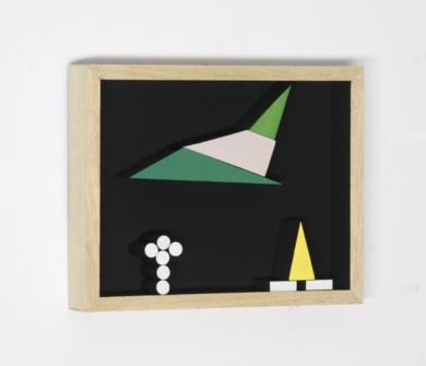 Móvil interactivo 0188 posición A|Escultura de pareddeManuel Izquierdo| Compra arte en Flecha.es