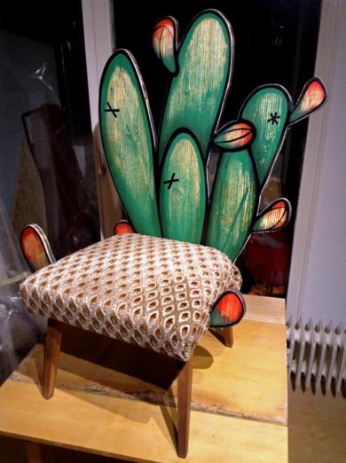 Silla Cactus|Esculturadelaulimens| Compra arte en Flecha.es