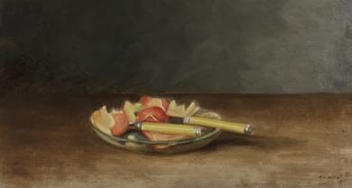Fruta de la mañana|DibujodeCharo Mirat| Compra arte en Flecha.es