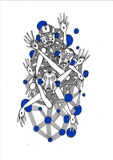 Hafefobia|DibujodeLucas Zapardiel| Compra arte en Flecha.es