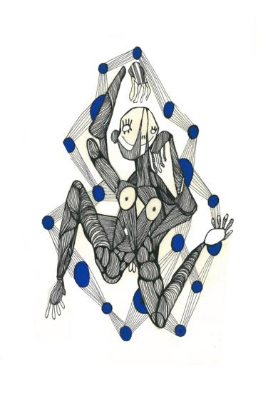 Danzad|DibujodeLucas Zapardiel| Compra arte en Flecha.es