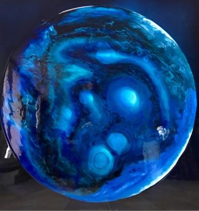 Blue Ocean 1|PinturadeYanespaintings| Compra arte en Flecha.es