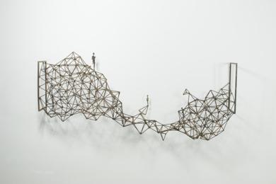 Estratos|Escultura de pareddeDaniel Domingo Schweitzer| Compra arte en Flecha.es