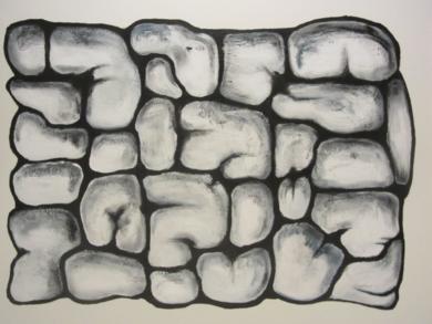The Inner Wall|PinturadeMercedes Azofra| Compra arte en Flecha.es