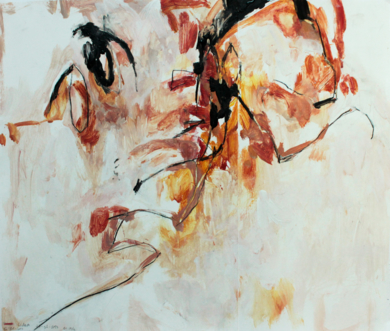 Clara en movimiento un momento 26/12/2016|DibujodeLucía Rojo| Compra arte en Flecha.es