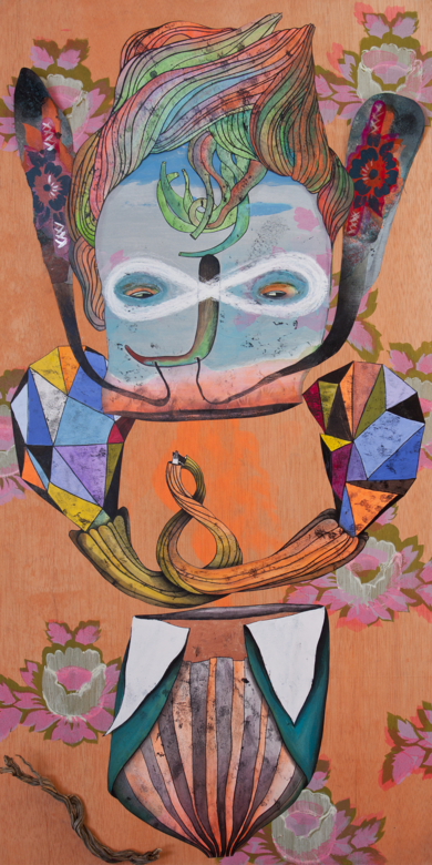 Falsa Oruga by WONDERLAND|CollagedeKatarzyna Rogowicz| Compra arte en Flecha.es