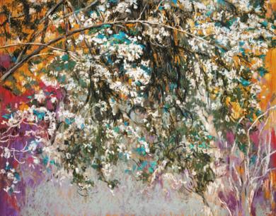 Ofrenda III|PinturadeManuel Luca de tena| Compra arte en Flecha.es