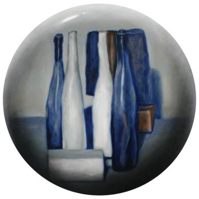 Bodegón azúl|PinturadeEnrique González| Compra arte en Flecha.es