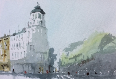 Calle Almagro|PinturadeIñigo Lizarraga| Compra arte en Flecha.es