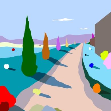 Tras el muro|DigitaldeALEJOS| Compra arte en Flecha.es