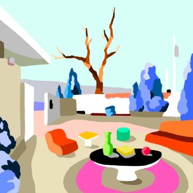 Casa de campo|DigitaldeAlejos Lorenzo| Compra arte en Flecha.es
