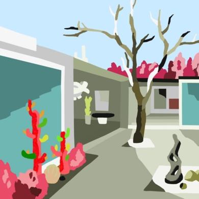 El patio|DigitaldeALEJOS| Compra arte en Flecha.es