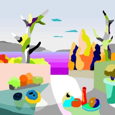 Juegos de verano|DibujodeALEJOS| Compra arte en Flecha.es