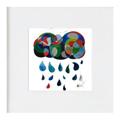 el núvol|IlustracióndeRICHARD MARTIN| Compra arte en Flecha.es