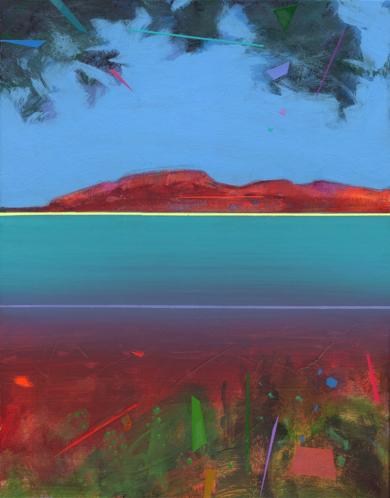 Islas 1|PinturadeBenito Salmerón| Compra arte en Flecha.es