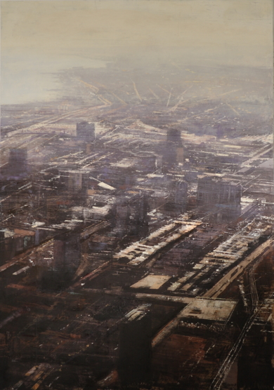 CHICAGO INDUSTRIAL|PinturadeAlejandro Quincoces| Compra arte en Flecha.es