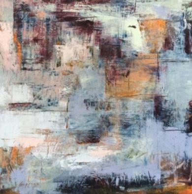 Misty morning n1|PinturadeLinda-Coppens| Compra arte en Flecha.es