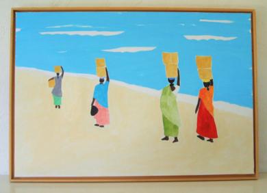 Indian Ocean|PinturadeMiguel Costales| Compra arte en Flecha.es