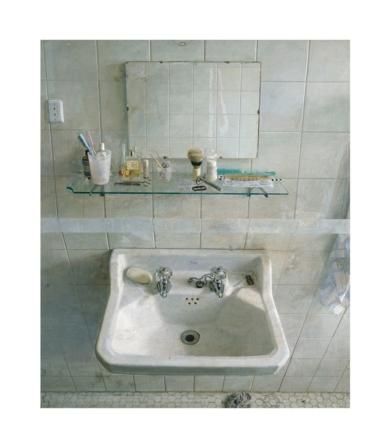 Lavabo y espejo|Obra gráficadeAntonio López| Compra arte en Flecha.es