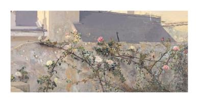 Terraza de Lucio|Obra gráficadeAntonio López| Compra arte en Flecha.es