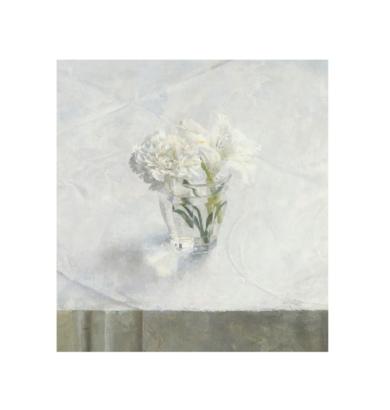 Vaso con flores|Obra gráficadeAntonio López| Compra arte en Flecha.es