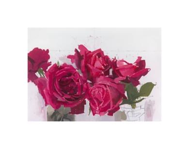 Rosas rojas|Obra gráficadeAntonio López| Compra arte en Flecha.es