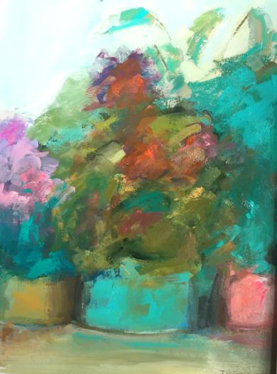 Lugares y Jardines Imaginarios XVI|PinturadeTeresa Muñoz| Compra arte en Flecha.es