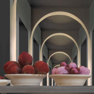 Bodegón con arcos|FotografíadeLeticia Felgueroso| Compra arte en Flecha.es