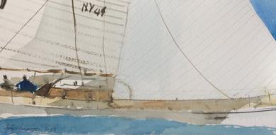 Sailing|PinturadeIñigo Lizarraga| Compra arte en Flecha.es