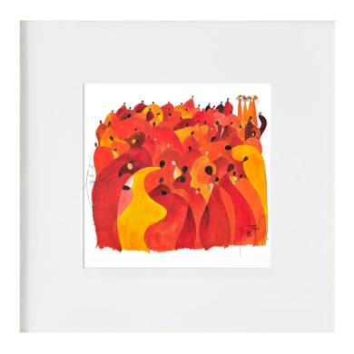 Tots som família - Todos somos família|Ilustraciónderichard martin| Compra arte en Flecha.es